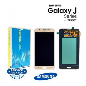 Display Samsung Galaxy J7 2016 J710F gold Service Pack